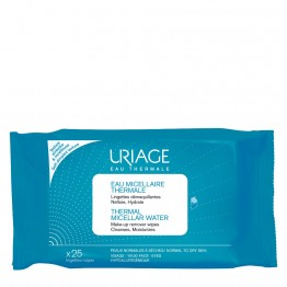 Thermal Micellar Water Make-Up Remover Wipes 25τμχ Καθαρισμός Προσώπου