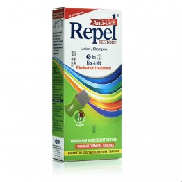 Repel Anti-Lice Restore Lotion/Shampoo 200ml Αντιφθειρικα
