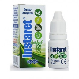 Instaret Ear Drops 10ml Αυτιά