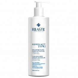 Rilastil Xerolact Fluid Emulsion Sodium Lactate 12% 250ml Γαλακτωμα Σωματος