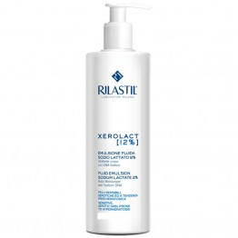 Rilastil Xerolact Fluid Emulsion Sodium Lactate 12% 400ml Γαλακτωμα Σωματος