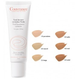 COUVRANCE FLUID CORRECTOR 30ml Μακιγιαζ