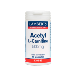 ACETYL L-CARNITINE 500mg 60CAPS Αμινοξέα