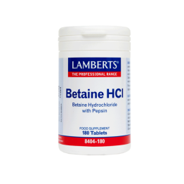 BETAINE HCl 324mg + PEPSIN 5mg 180TABS Πεπτικά Βοηθήματα