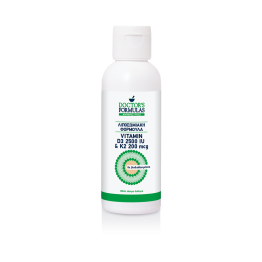 Vitamin D3 2500iu & K2 200mcg liposomal 120ml liquid Βιταμινη D