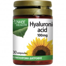 Hyaluronic Acid 100 mg  30 caps Συμπληρώματα Διατρ.