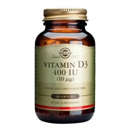 Vitamin D3 400 IU softgels 100s Βιταμινη D