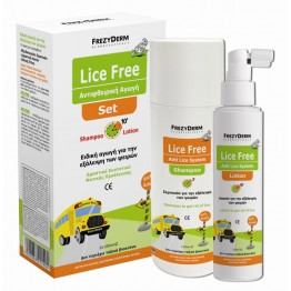 Lice Free Set Shampoo & Lotion 2x125ml Αντιφθειρικα
