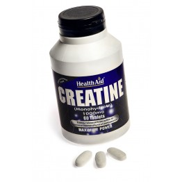 Creatine Monohydrate 1000mg 60 tabs Αμινοξέα