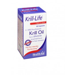 Kril-Life 100% Pure Antarctic Krill oil 500mg 60caps Καρδιά-Κυκλοφορικό