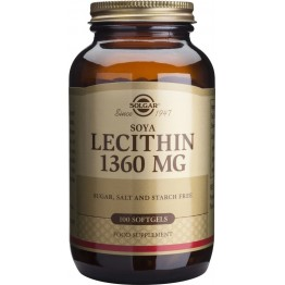 Lecithin 1360mg softgels 100s Συμπληρώματα Διατρ.