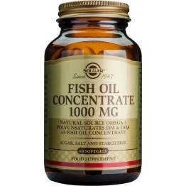 Fish oil concentrate 1000mg softgels 60s Συμπληρώματα Διατρ.
