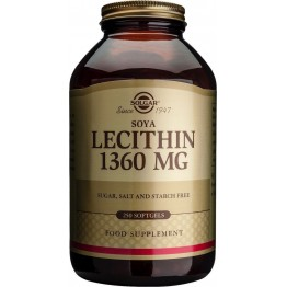 lecithin 1360mg softgels 250s Συμπληρώματα Διατρ.