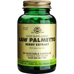 Saw palmetto berry extract veg.caps 60s Συμπληρώματα Διατρ.