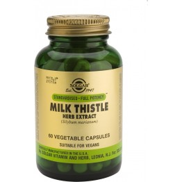 Milk thistle herb & seed extract veg.caps 60s Συμπληρώματα Διατρ.