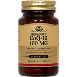 Coenzyme Q-10 100mg softgels 30s Συμπληρώματα Διατρ.
