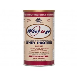 Whey to go protein chocolate powder 454gr  Συμπληρώματα Διατρ.